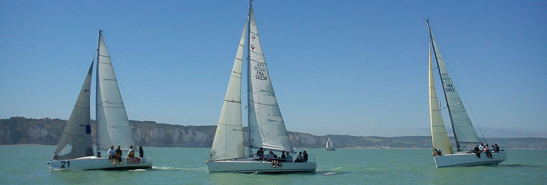 Sailing in Dieppe