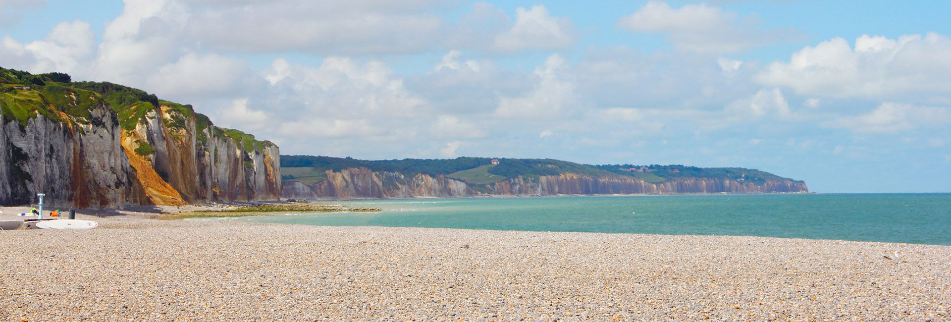 Beach in Dieppe